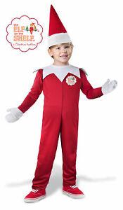 The Elf on the Shelf Child Toddler Boys Costume NEW Christmas