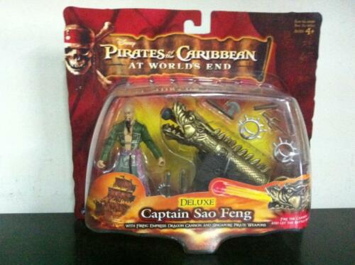 """Pirates of the Caribbean At World/'s End DELUXE SAO FENG 4/"""" Figure MOC 2007"""