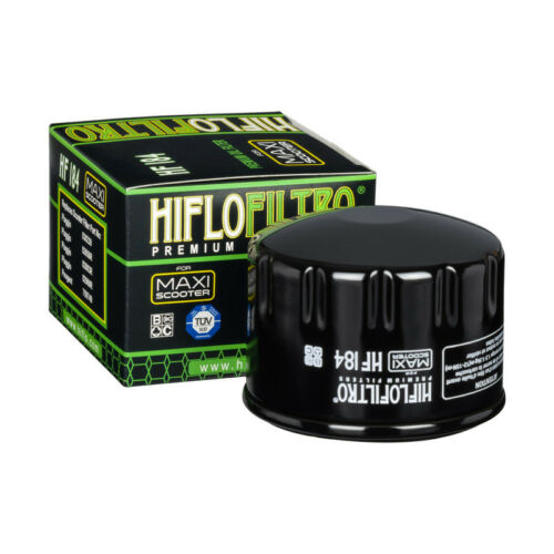 Hiflo HF184 Motorcycle Replacement Premium Oil Filter