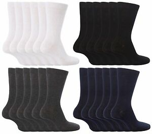 6-Pack-Kid-Boys-Girls-Back-to-School-Socks-Black-White-Grey-amp-Navy-Various-Sizes