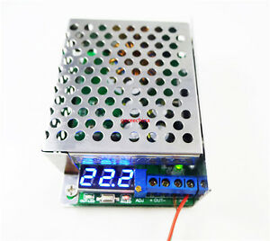 150W DC-DC Boost Converter 10-32V to 12-46V 8A MAX Step Up Charger Power Module