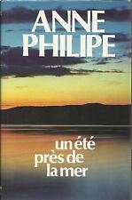 ANNE PHILIPE UN ETE PRES DE LA MER