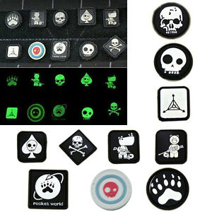 New-10x-Velcro-Patches-JTG-Ill-Gear-Tad-Surefire-Tactical-Patch-EDC-Noctilucent