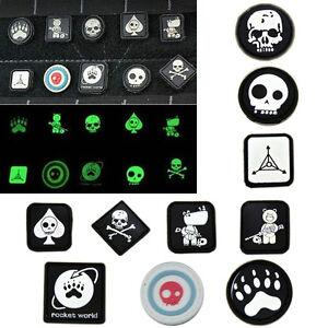 New-10x-Velcro-Patches-JTG-Ill-Gear-Tad-Surefire-Tactical-Patch-EDC-Noctilucent