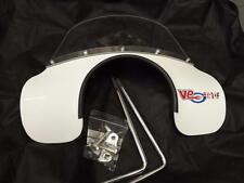 white flyscreen Vespa PX 125 150 200 LML Star Deluxe T5 Classic