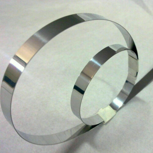 0.4mm Metal Plate Roll Strip 1M 5M 304 Stainless Steel Foil Sheet Thin 0.005mm