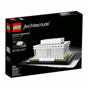 Lego Architecture Lincoln Memorial (21022) - Nouveau & ovp / misb