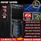 ORDENADOR PC GAMING SOBREMESA AMD FX6300 X6 8GB DDR3 1TB ASUS GTX1050 4GB DDR5