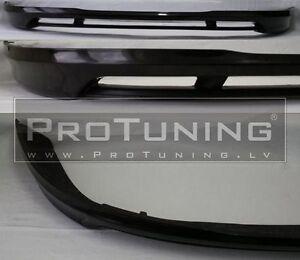 B6-3C-05-10-Front-Bumper-spoiler-V-splitter-Chin-tuning-lip-skirt-Valance-GT-R36