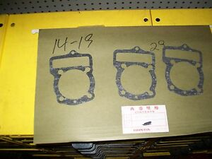 3 Of Honda Motorcycles Part 12191 Ka8 000 Cylinder Gasket Ebay