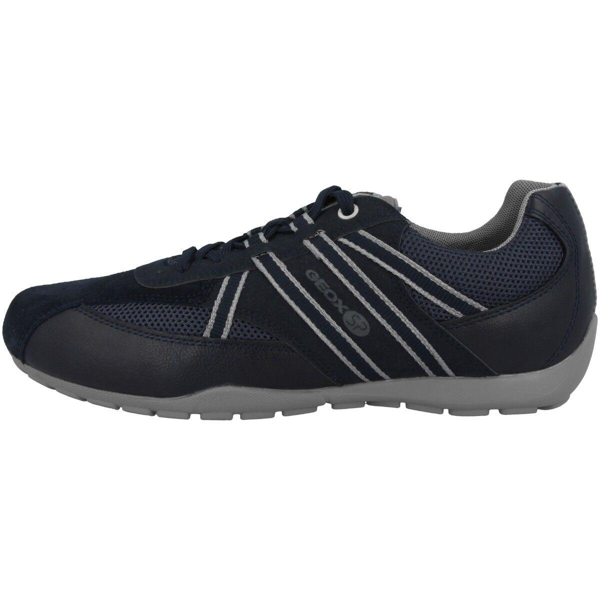 Geox u Ravex B Zapatos Hombre Deportiva de Tiempo Libre Azul Marino