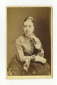 Image Is Loading 19th Century Fashion 1800s Carte De Visite Photo