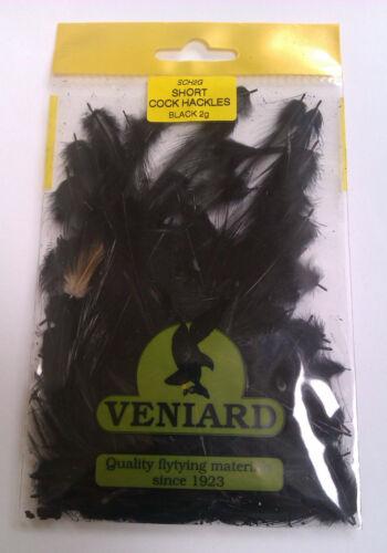 Veniard Short Cock Neck Hackles Fly Tying Materials Full Range Game Fishing