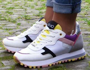 LIU-JO-Schuhe-Wonder-2-0-BXX063-TX095-Weiss-White-Damen-Sneaker-Neu