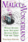 Malice in Wonderland: What Every Law Student Should Have for the Trip by Thaddeus Hatter (Paperback, 2012)
