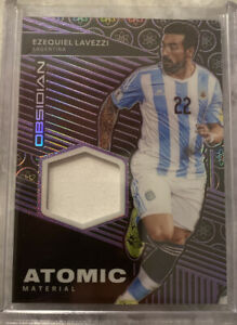 2019-20-Panini-Obsidian-Ezequiel-Lavezzi-Jersey-patch-Atomic-39-75-Purple