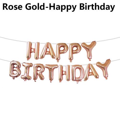 Year Old Boy Girl Latex Balloons Set Confetti Balloon 1st Birthday Baby Shower