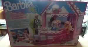 Boutique de chocolats Barbie Ski Fun Mattel Chocolate 1990 Vintage