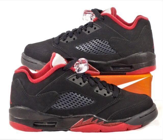b9347ac455b3 Air Jordan 5 V Retro Low Alternate   90 Men Lifestyle Shoes Black ...