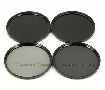 67mm Neutral Density ND Lens Filter Kits (ND2+ND4+ND8+ND10)