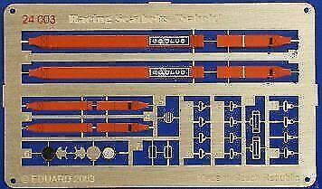 Eduard PE 24004 1//24 Blue /'Sparco/' 4 point race car seat belts