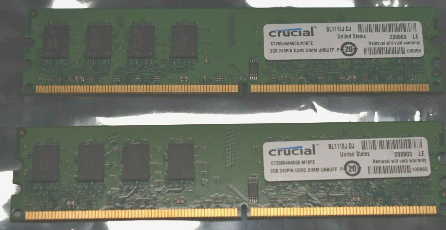 PARTS-QUICK BRAND 2GB Memory for MSI Motherboard G41TM-E43 DDR2 PC2-6400 800MHz DIMM NON-ECC RAM UPGRADE