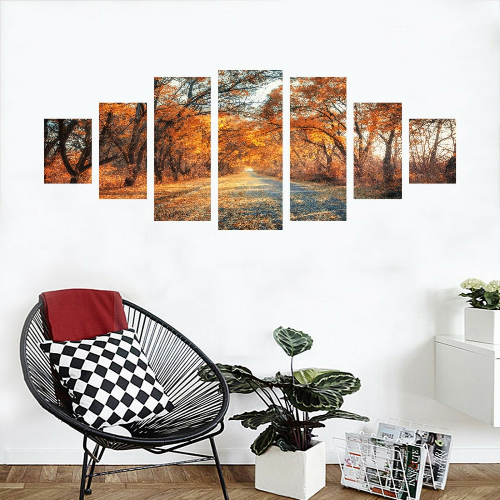 3D Way Forest 5645 Unframed Print Wall Paper Decal Wall Deco Indoor AJ Wall