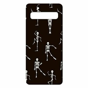 For-Samsung-Galaxy-S10-PLUS-Silicone-Case-Halloween-Skeleton-Pattern-S4020