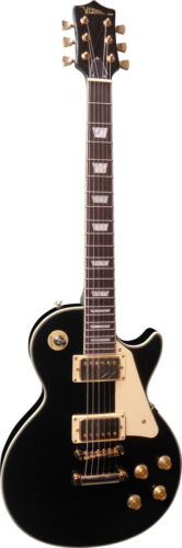 Modell LSG3 schwarz mit gold Hardware in Hochglanz voll Holz!n E-Gitarre