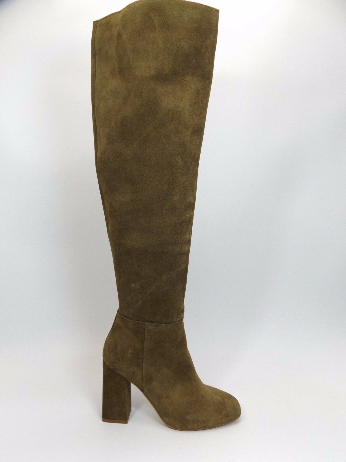 Free People Liberty Heel Boot SZ 6.0-6.5 M  Green Brown Suede MSRP   228  D2483