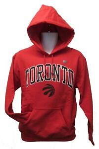 New Toronto Raptors Mens Sizes S-M-L-XL-2XL Red Sweatshirt Hoodie