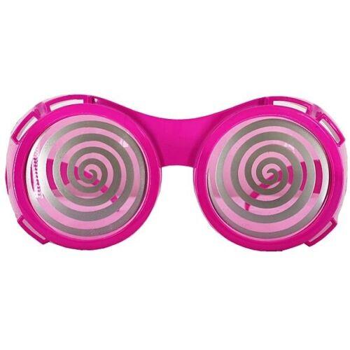 Hypnotic Dizzy Eye Pink Goggles