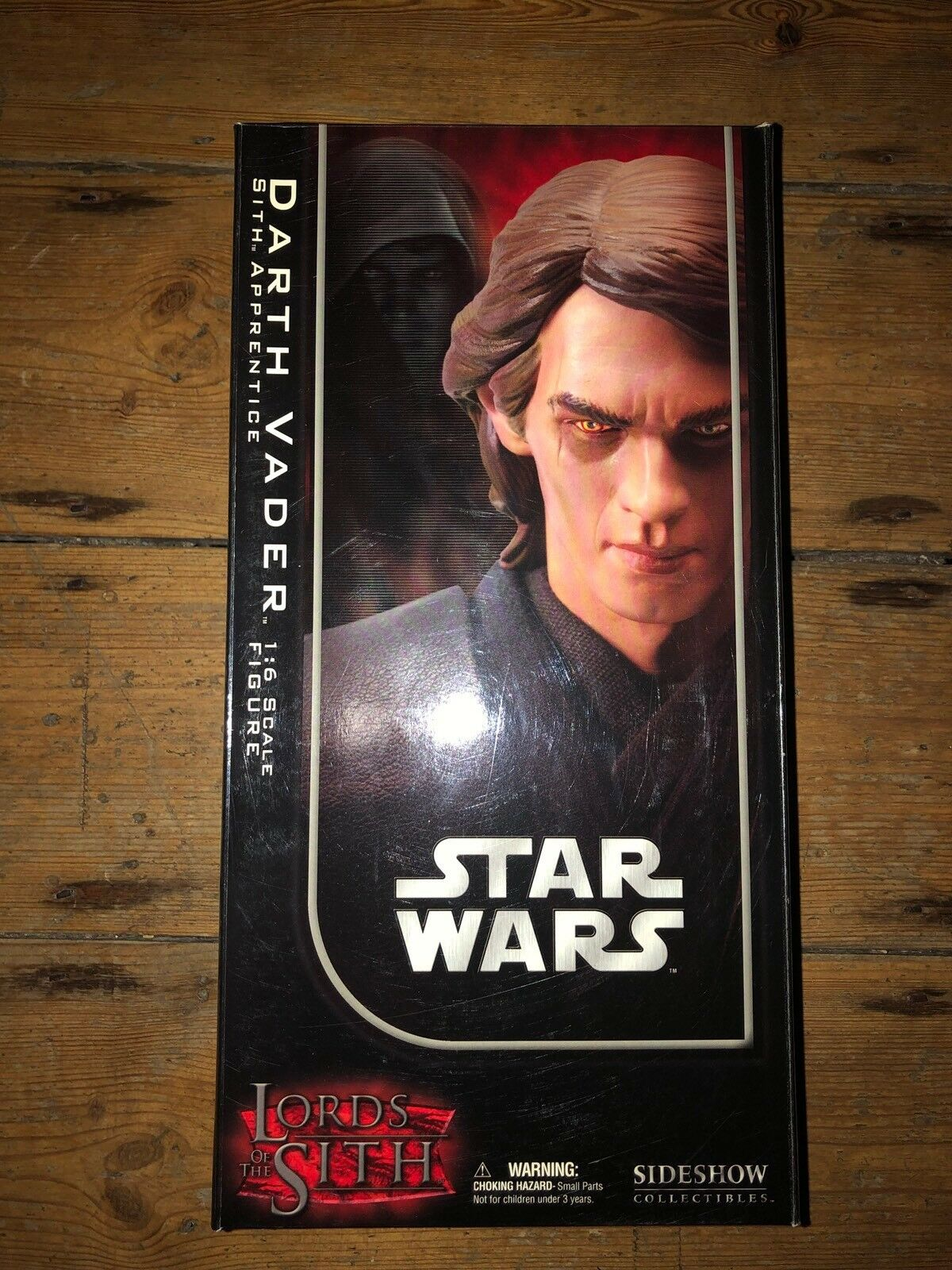 Sideshow Star Wars Lords Of The Sith Darth Vader Sith Apprentice  AFSSC510
