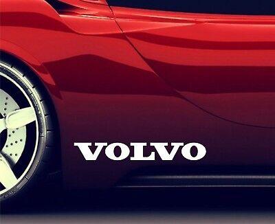 2x Side Skirt Stickers Fits Volvo V40 V60 V70 V80 Premium Qaulity Decals RA110