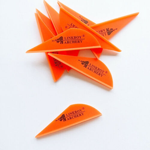 100pcs 2inch plastic Arrow Vanes DIY Compound Recurve Bow HUnting Shooting New