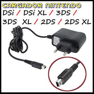 CARGADOR-PARA-NINTENDO-DSi-DSi-XL-3DS-3DS-XL-2DS-2DS-XL-DE-PARED-RED