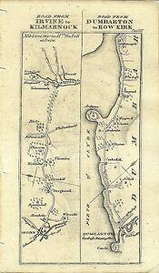 Antique-map-Irvine-to-Kilmarnock