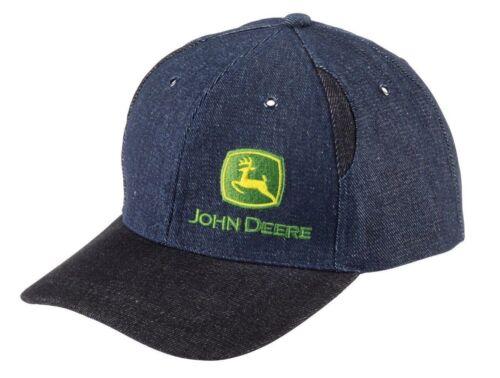 Deere John bicolore in denim cap