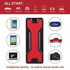 18000mAh Starthilfe Akku Emergency Auto Car Jump Starter Power Bank ChargerLED