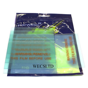 """Welding Lens Cover Plate 2/""""x4-1//4/"""" #10 LM-77217 LOT OF 10 10"""
