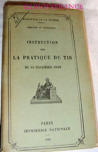 INSTRUCTION-SUR-LA-PRATIQUE-DU-TIR-1930