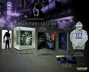 Sony-Playstation-3-PS3-Resident-Evil-6-COLLECTOR-039-S-EDITION-Limited
