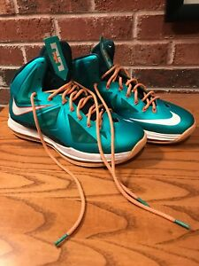 a28c8bac7db6 Nike LeBron James 10 (X) Miami Dolphins (541100-302).Men Sz.11