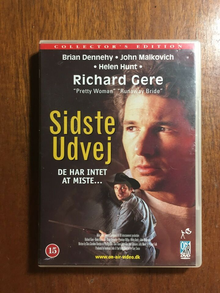 Sidste Udvej, instruktør Gary Sinise, DVD