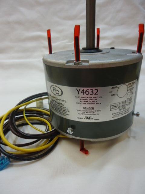 DiversiTech WG840728 1/4 HP 208-230 VAC Condenser Fan Motor on