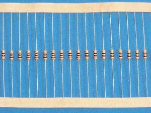 100-x-Kohleschichtwiderstand-0-0-Ohm-Null-Ohm-0-25W-5-SR-Passives