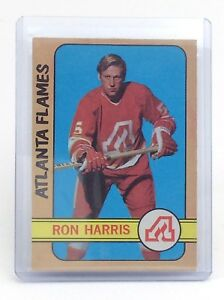 1972-73-Ron-Harris-5-Atlanta-Flames-OPC-O-Pee-Chee-Hockey-Card-I188