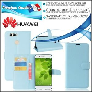 Etui-Coque-Housse-Cuir-PU-Leather-Stand-Wallet-Case-Cover-Huawei-Nova-2-plus