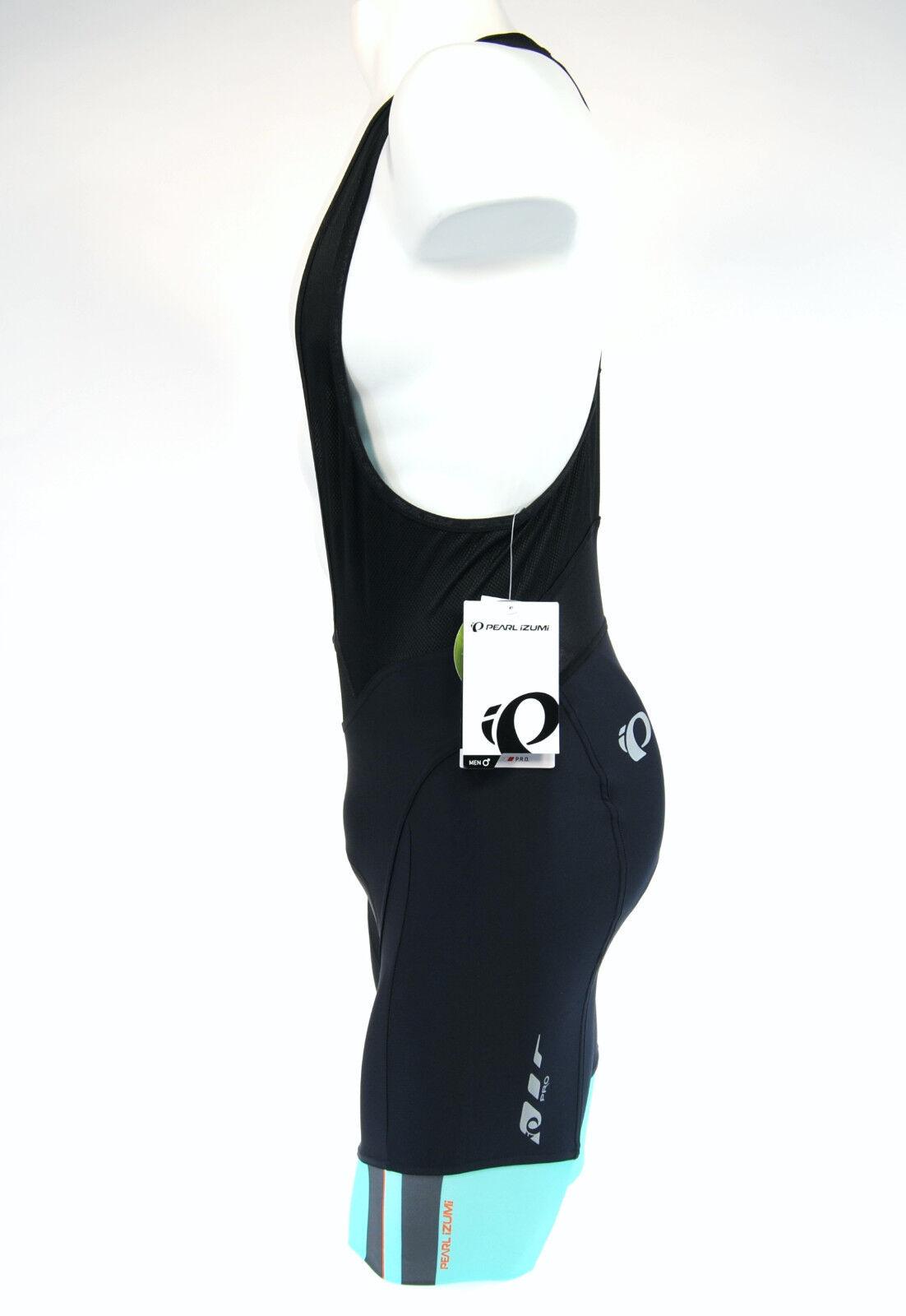 Pearl Izumi P.R.O. In-R-Cool Bib Shorts, orange Mint, Small   best quality