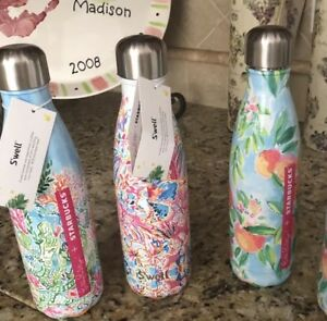 7a1280128e Image is loading Starbucks-Lilly-Pulitzer-Swell-Bottles-Limited-Edition-NEW-
